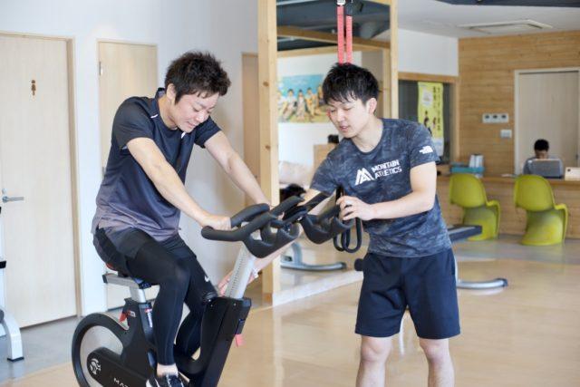 トレーニングの開始は有酸素運動から