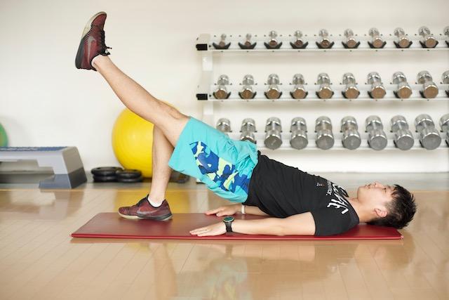 太腿に効くヒップリスト&ワンレッグエクステンション