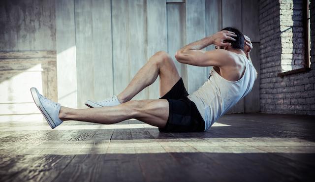 <初心者OK> 道具なしの腹直筋トレーニング4選