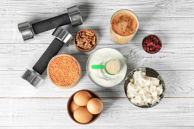 筋トレは食事も重要な要素