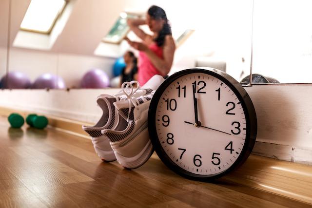 消化のため、食後2~3時間おくと理想的