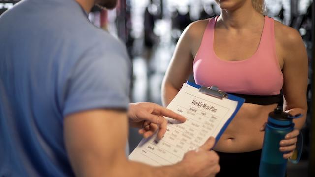 食事管理と筋トレをプロが監修!パーソナルトレーニングを味方につける