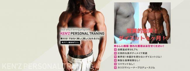 パーソナルトレーニングジム「Kenz(ケンズ)」とは