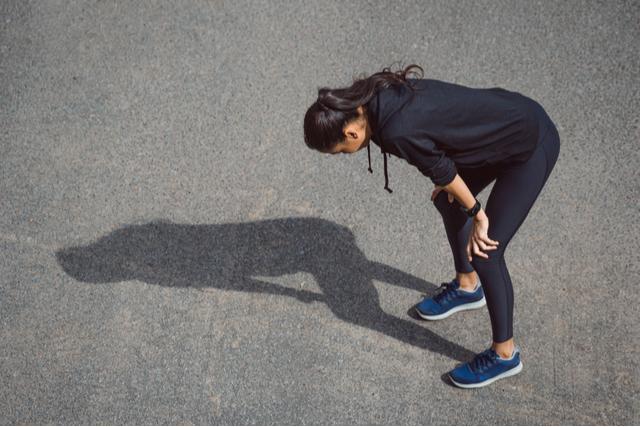 過度な運動量の例