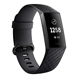 ミニマムなデザインが魅力「Fitbit Charge3 フィットネストラッカー」