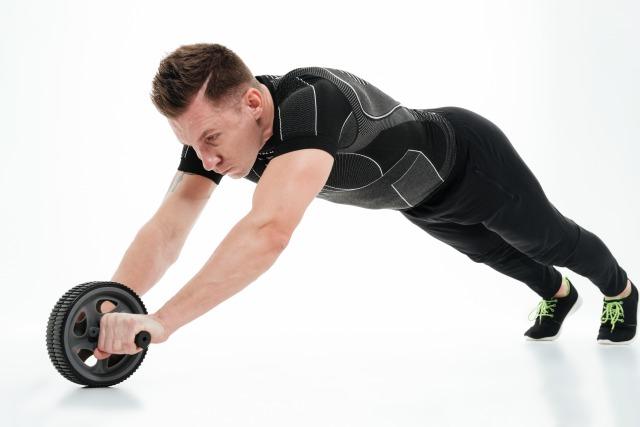 腹筋ローラーでのトレーニングのポイント