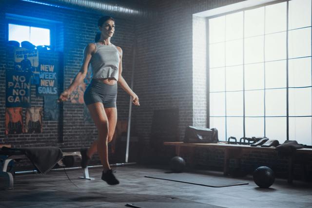 縄跳びの基本的な跳び方