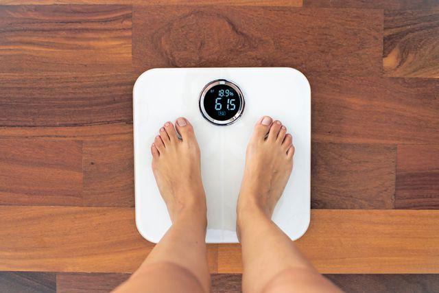 体脂肪率をチェック