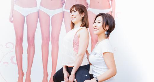 女性専用の体幹トレーニングを中心としたメニュー