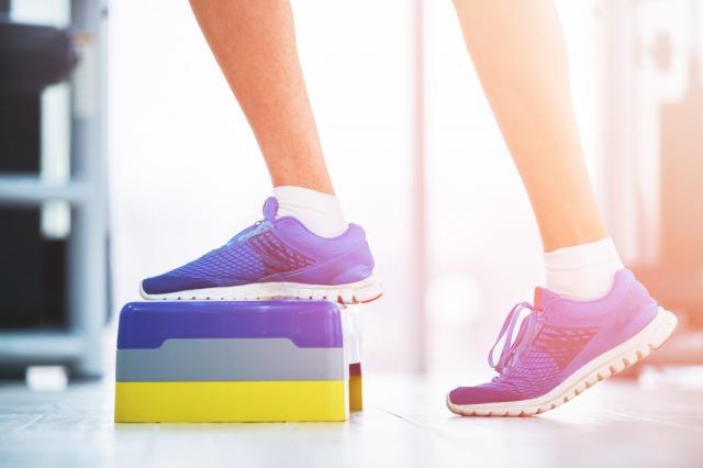 昇降運動は体力作りに最適