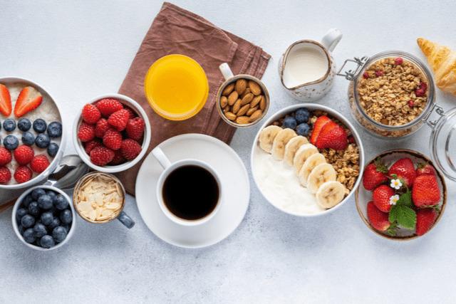 朝トレに適した朝食メニュー