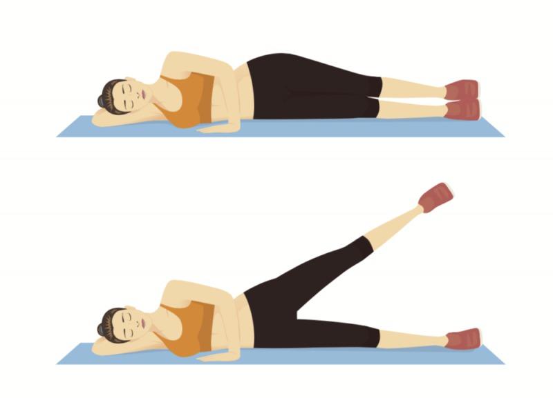 寝ながらトレーニング