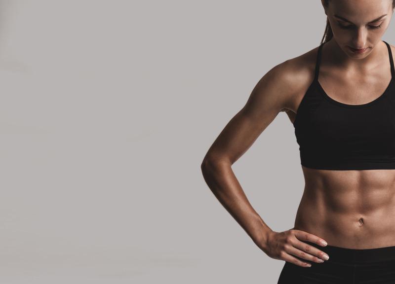 バイシクルクランチはお腹の引き締めや脂肪燃焼に効果的