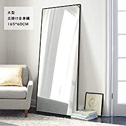 スタンド・壁掛けの両方ができる、「Miruo 全身鏡」