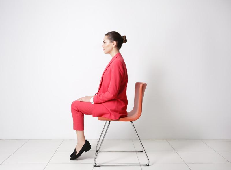 「正しい座り方」を意識する