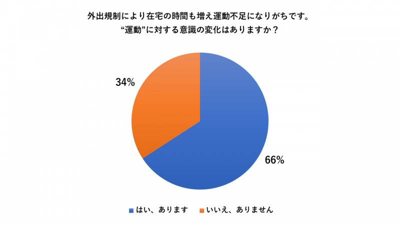 自宅フィットネスに関する意識調査のアンケートデータ