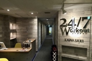 24/7Workoutの店舗の様子