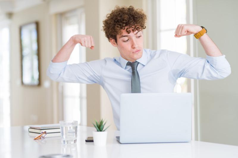 オフィス筋トレの効果をあげるコツ