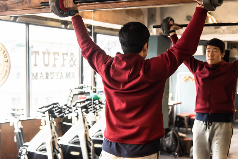 毎日鍛える場合のトレーニングメニュー例