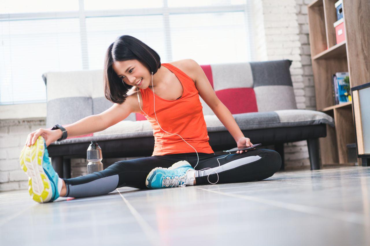運動不足を解消する方法。運動習慣者を目指して、まずは簡単な運動から