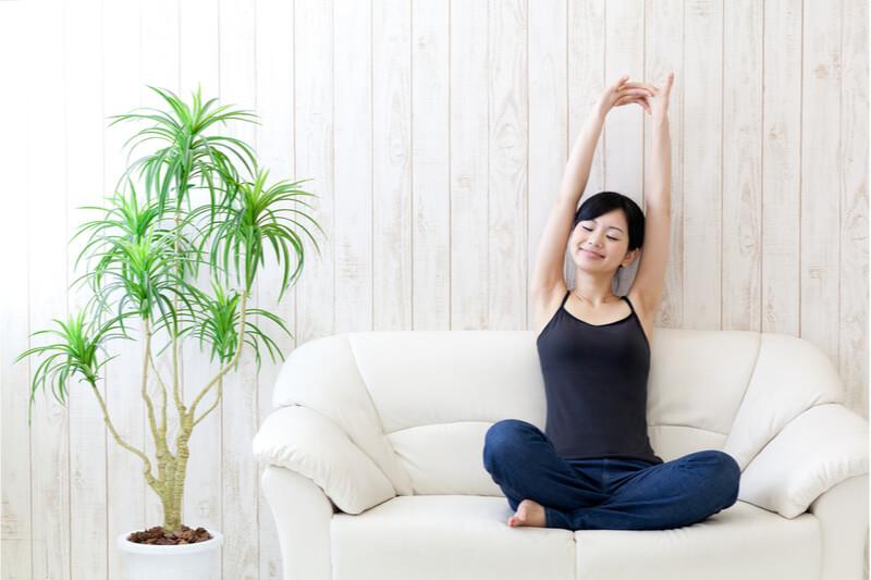 簡単な運動でも身体は変わる