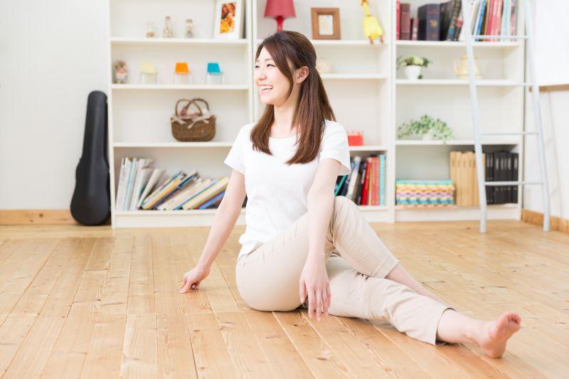 運動不足を解消するには、まずは自宅でできることから
