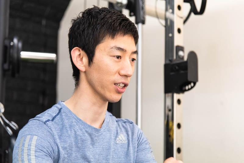 パーソナルトレーナー谷口さんの写真