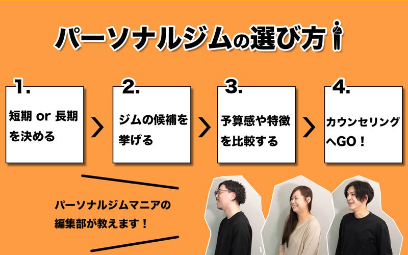 東京で自分に合ったパーソナルジムを選ぶには?
