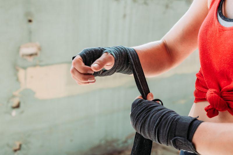 キックボクシングに使うバンテージの選び方