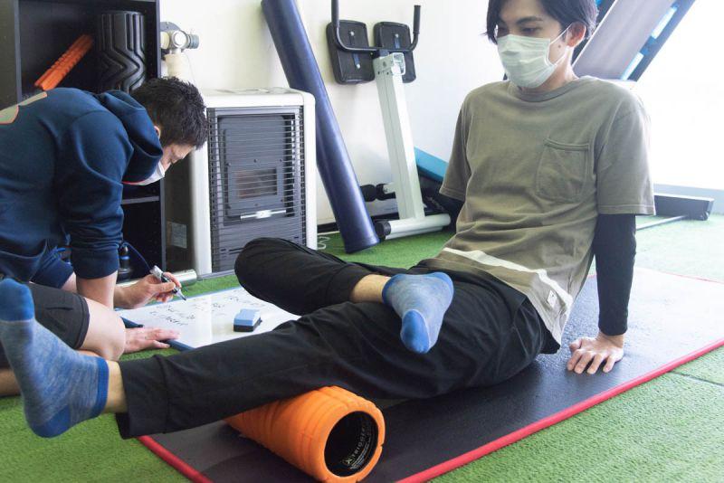 筋膜リリース・姿勢や可動域の改善