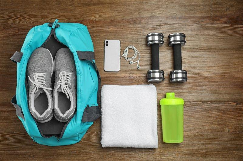 パーソナルトレーニングに行くときに必要な持ち物