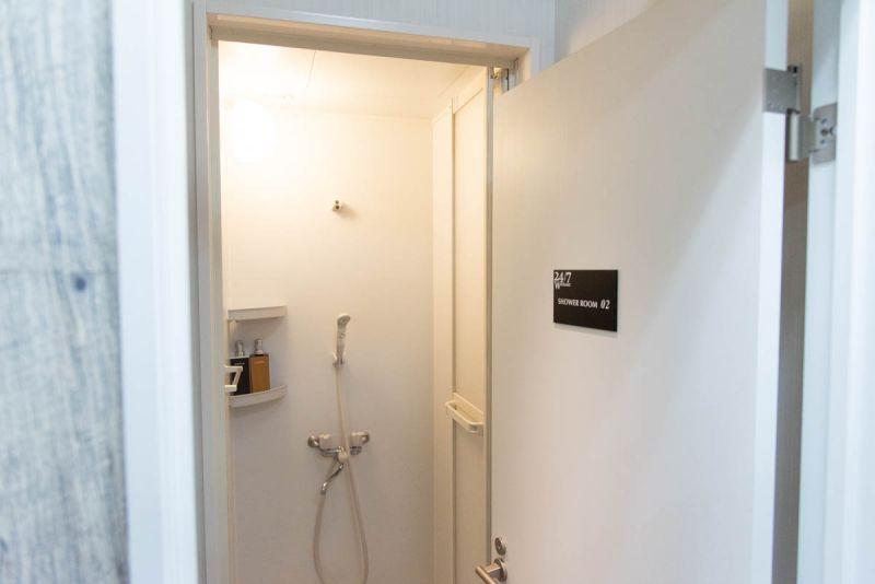 24/7Workoutのシャワールーム